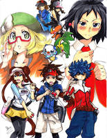 Unova Heroes by mikkusushi