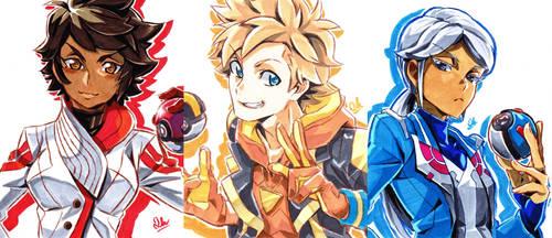 Team Leaders by mikkusushi