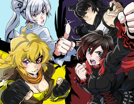 RWBY All-Out Attack