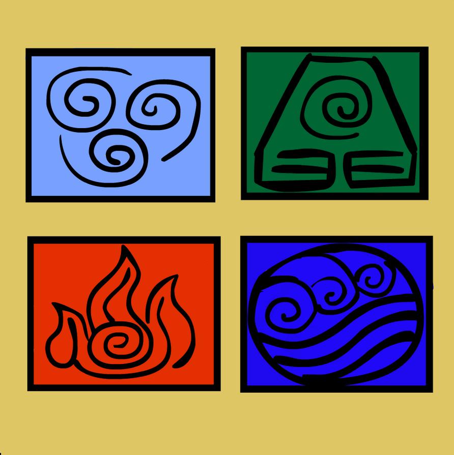 Avatar 4: 4 Nations' Symbols By Kspatula On DeviantArt