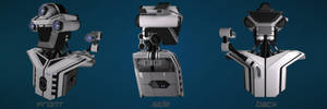 Security Robot - Head and Torso by curux