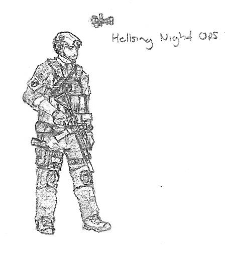 Modern Hellsing Night Ops By Eman Ekaf