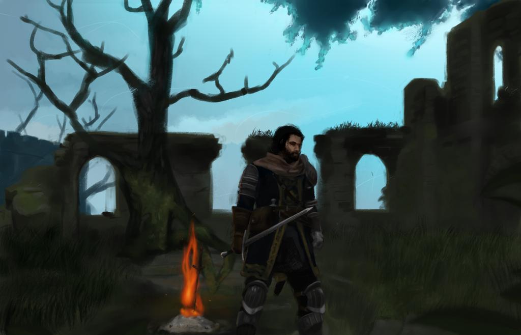 Firelink Knight by Eman-Ekaf