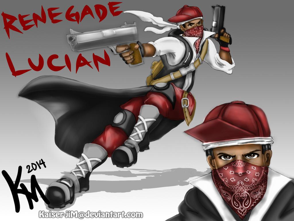 Renegade Lucian By Kaiser-jiM On DeviantArt