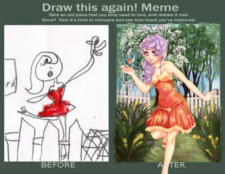 The Apple Tree Park meme by LemonPetals