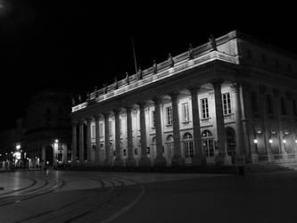 Grand Theater, Bordeaux by Flomyen
