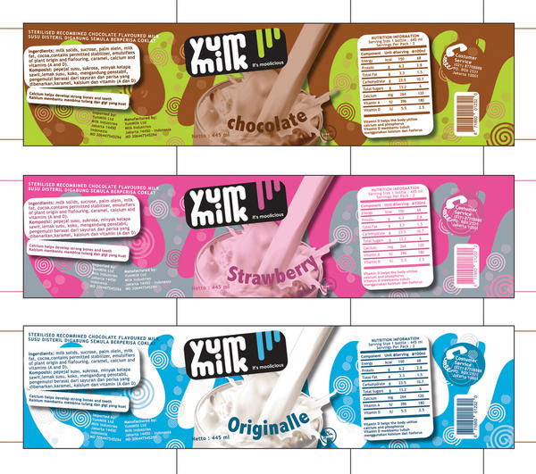Yummilk Label by pu3w1tch
