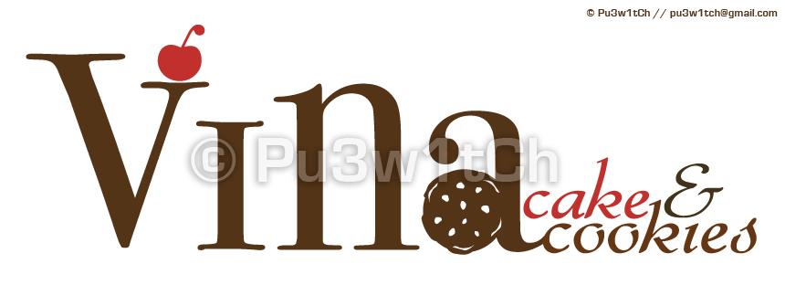 Vina Cookies Cake by pu3w1tch