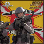 Starship Troopers: Join the Mobile Infantry!