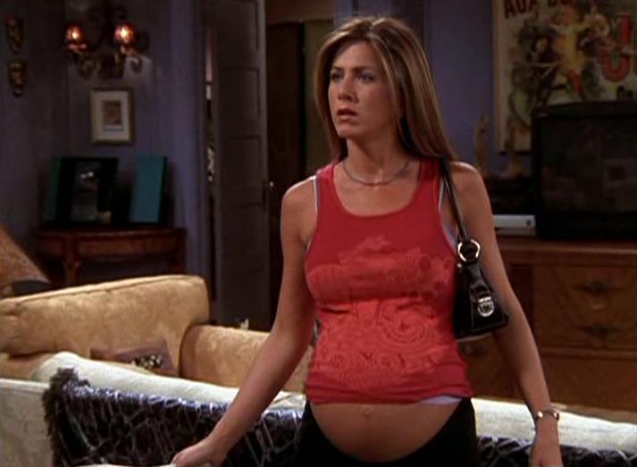 Jennifer Aniston Pregnant On Friends 37