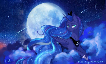 Moon Festival and Luna