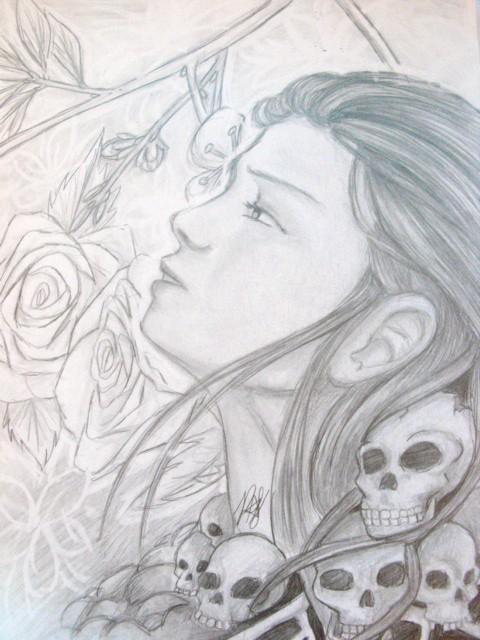 Goddess of Rebirth by Pandarax