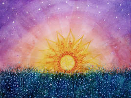 Sunset stars by Ninquelen