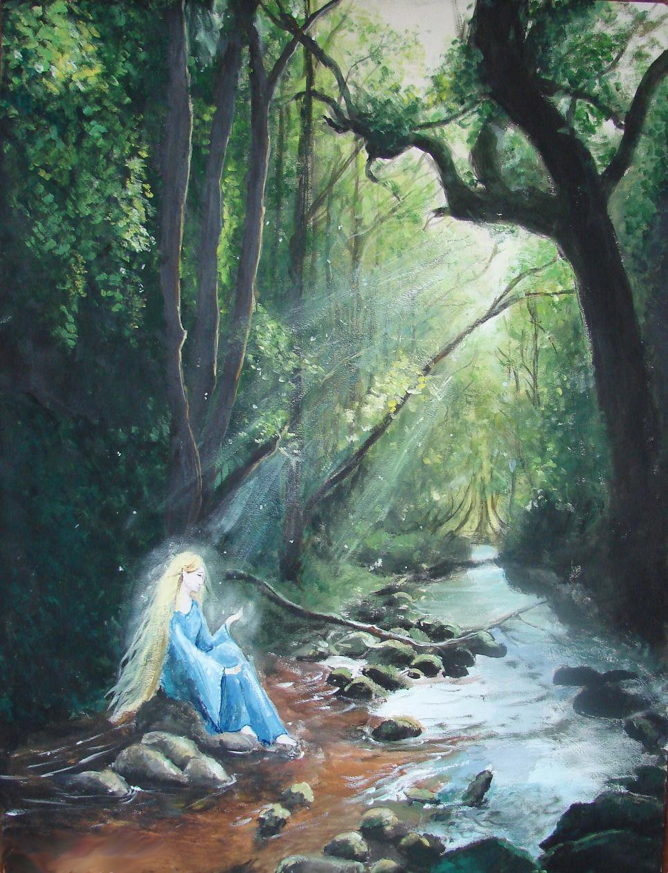 Lady of Lorien by Ninquelen