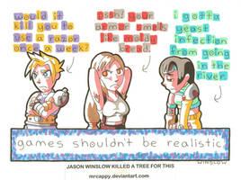 No Fantasy, All Reality by Mrcappy