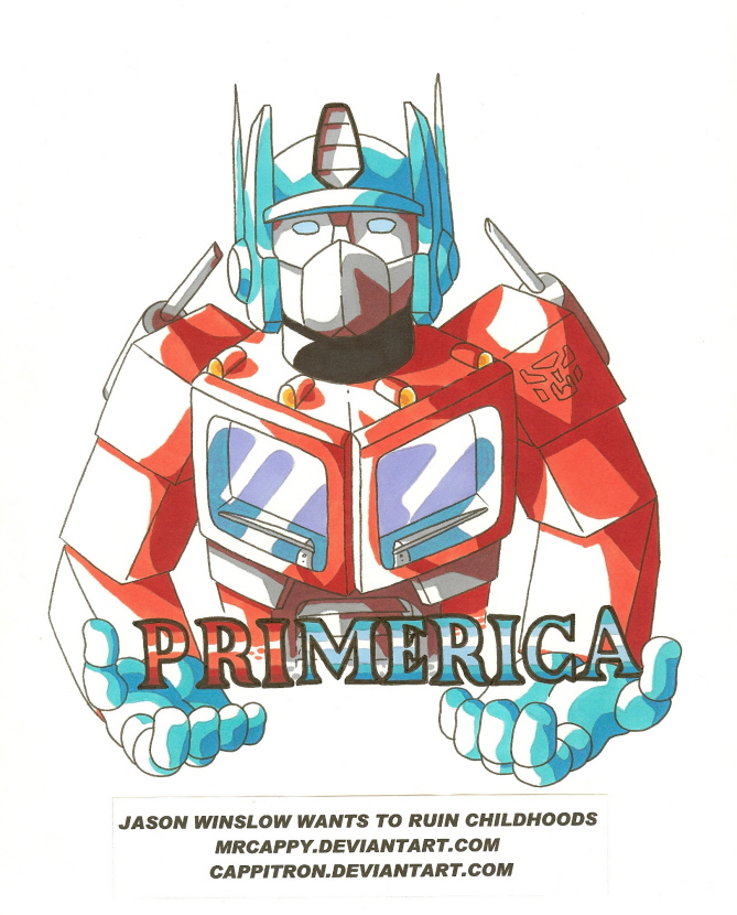 An American Hero Made In Japan by Mrcappy