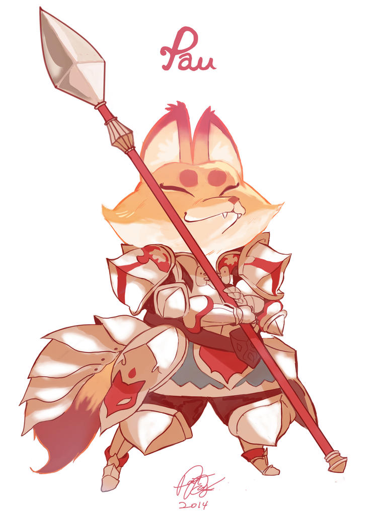 Pathfinder Character: Pau by kerochao