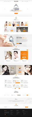 Diamond - Ecommerce PSD template by youwes