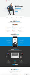 Mount - Business PSD Template by youwes