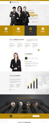 Master Lawyer PSD Template V.1 by youwes