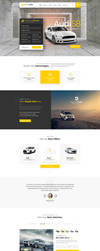 Royal Cars PSD Template Home V.2 by youwes