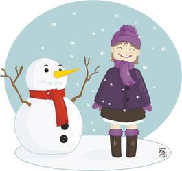 .: Frozen friend :. by melimelo