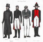 Inspector Javert: costumes