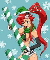 Yoko Littner Christmas by Bradwells