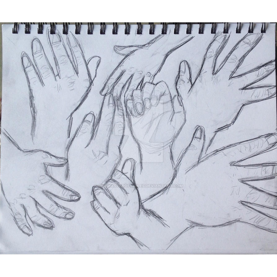 Hand practice by TheMasterOfSmiles