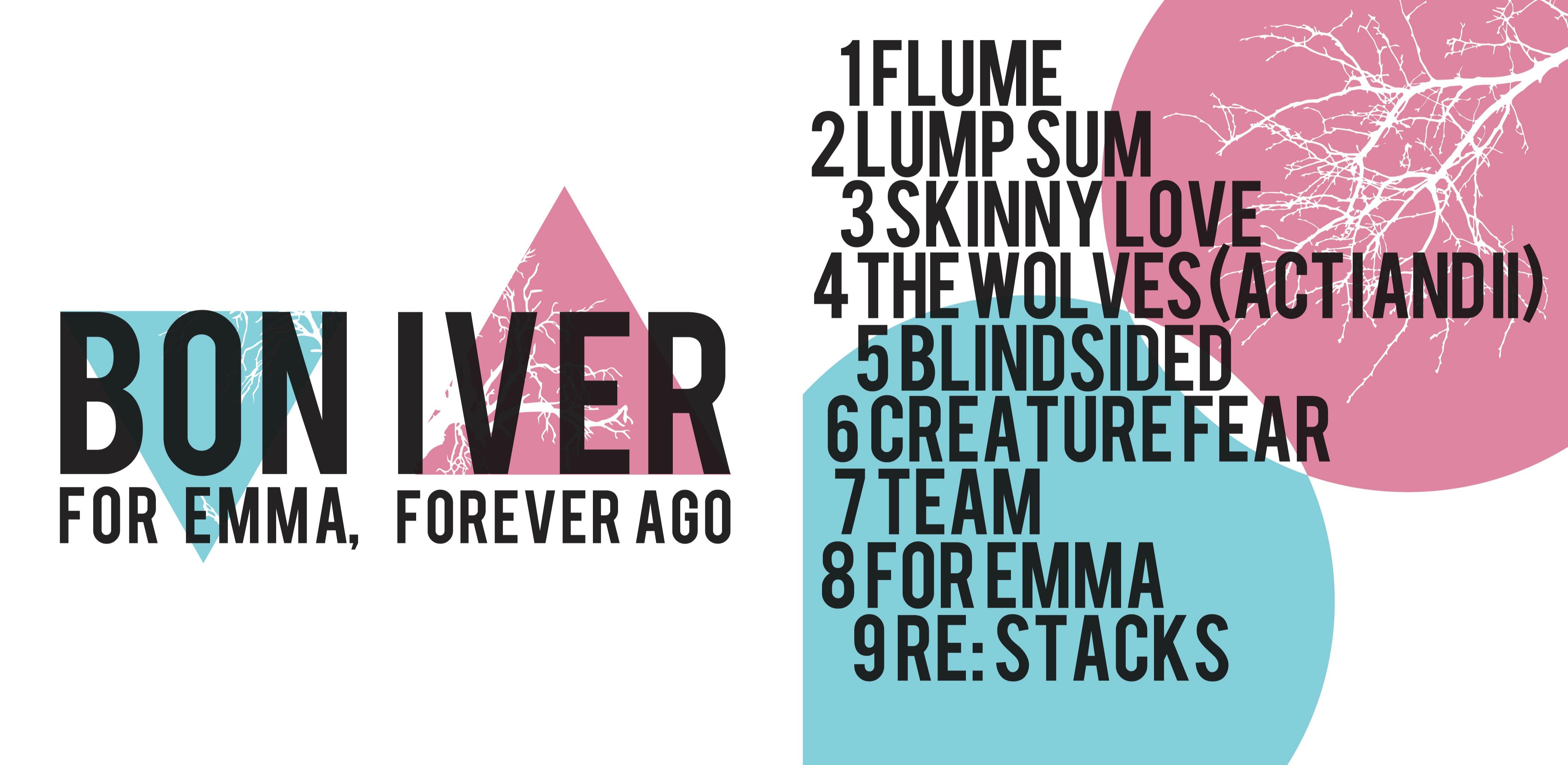Bon Iver Album Jacket by DearJune