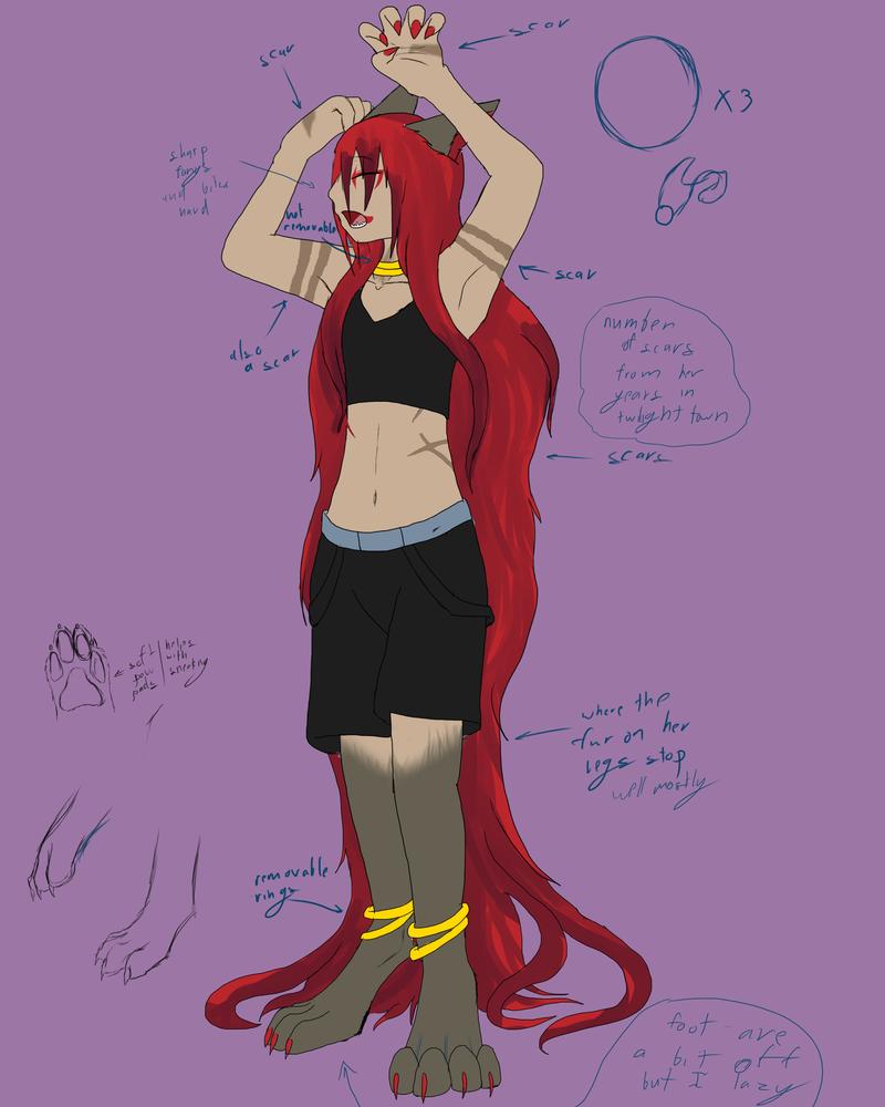Lily ref by Kuroleopard