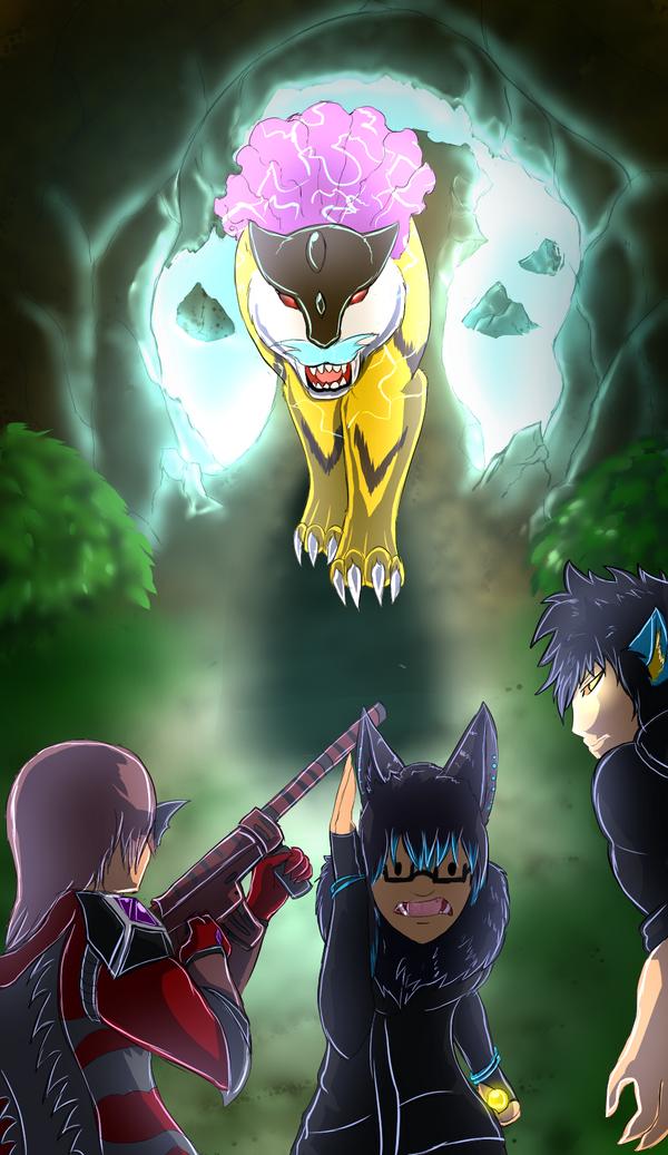 Predator showdown by Kuroleopard