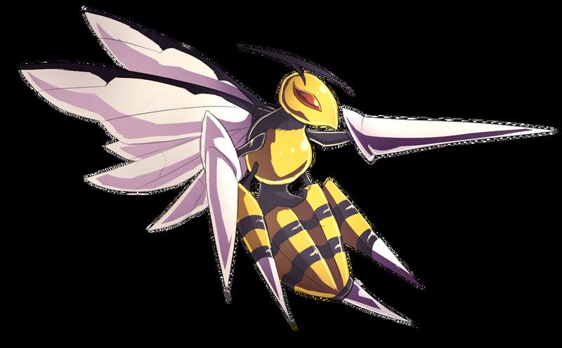 Mega Beedrill by Kuroleopard
