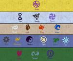 Stray stars:  Magic Chart update *lore update*