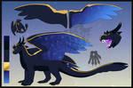 Custom dragon Com for Tunlor by Blitzblotch