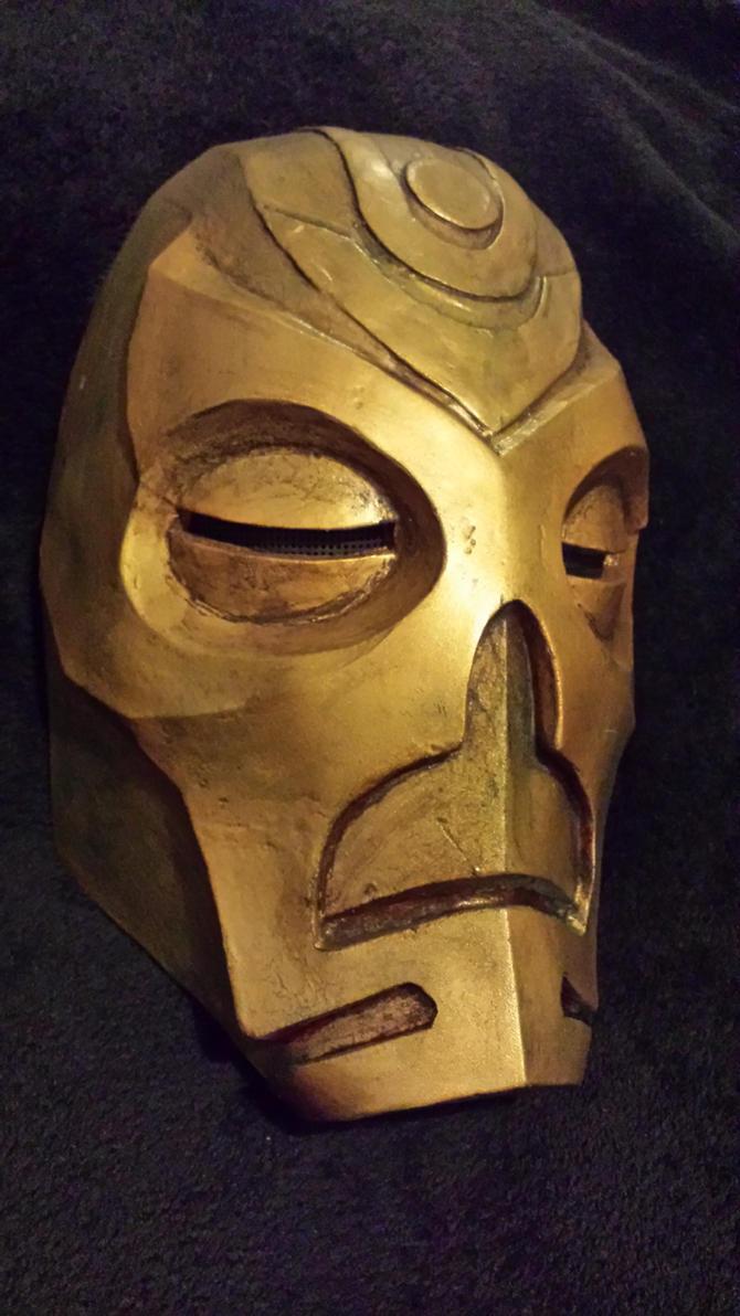 Skyrim prop: Krosis mask by Sutekhian