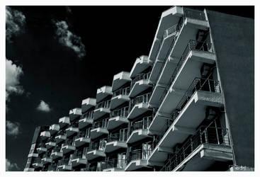 monochrome archirecture by DanStefan