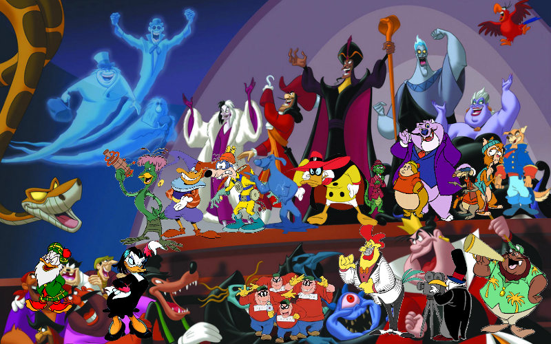 Disney villains united it s house our now by