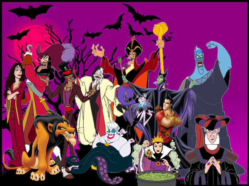 Halloween Disney Villains.Halloween 2014 Disney Villains By Darkwinghomer On Deviantart