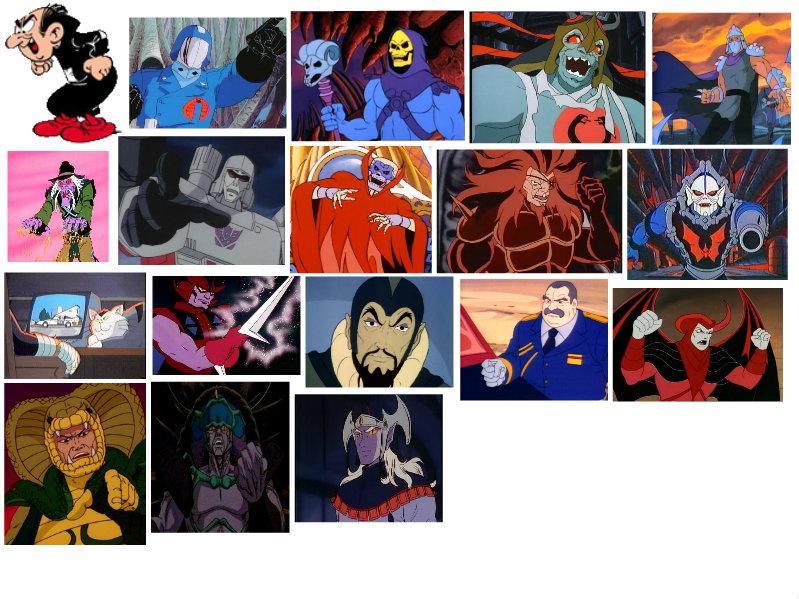 Cattivi dei cartoni animati by darkwinghomer on deviantart