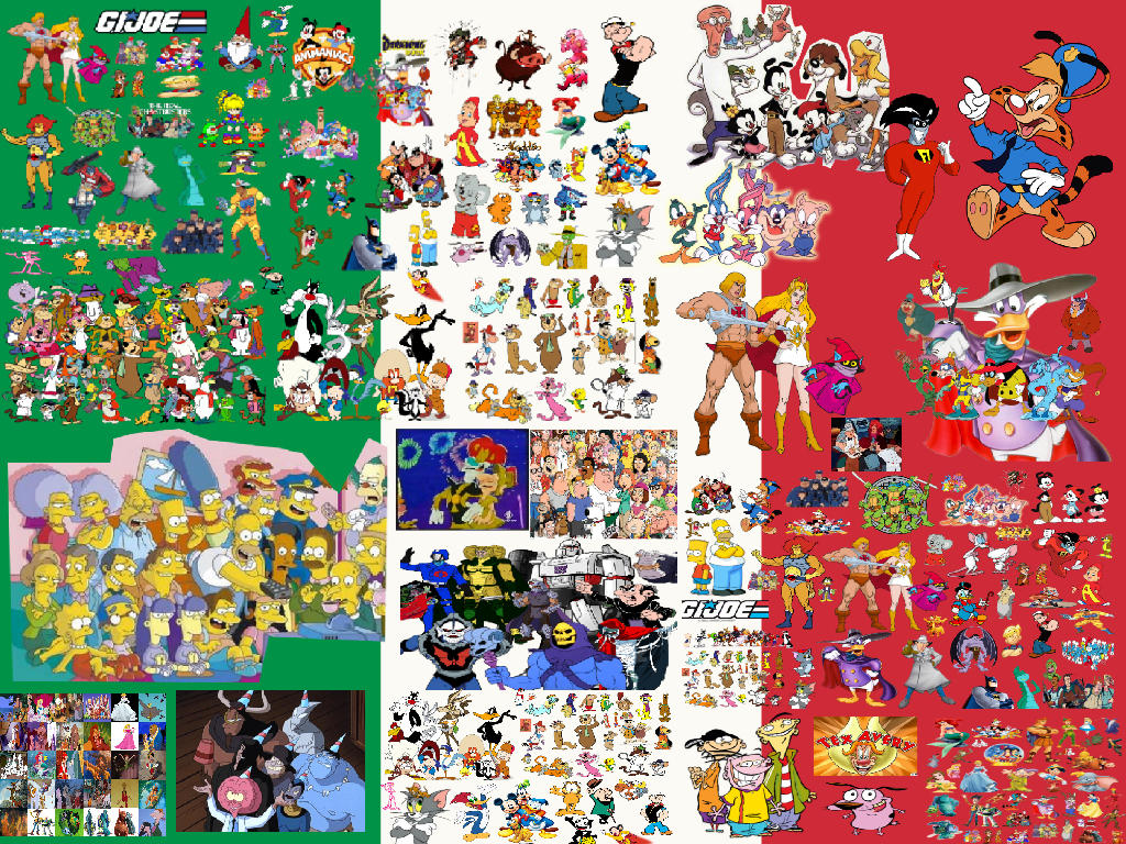 Italy's Most Loved 80s and 90s Cartoons