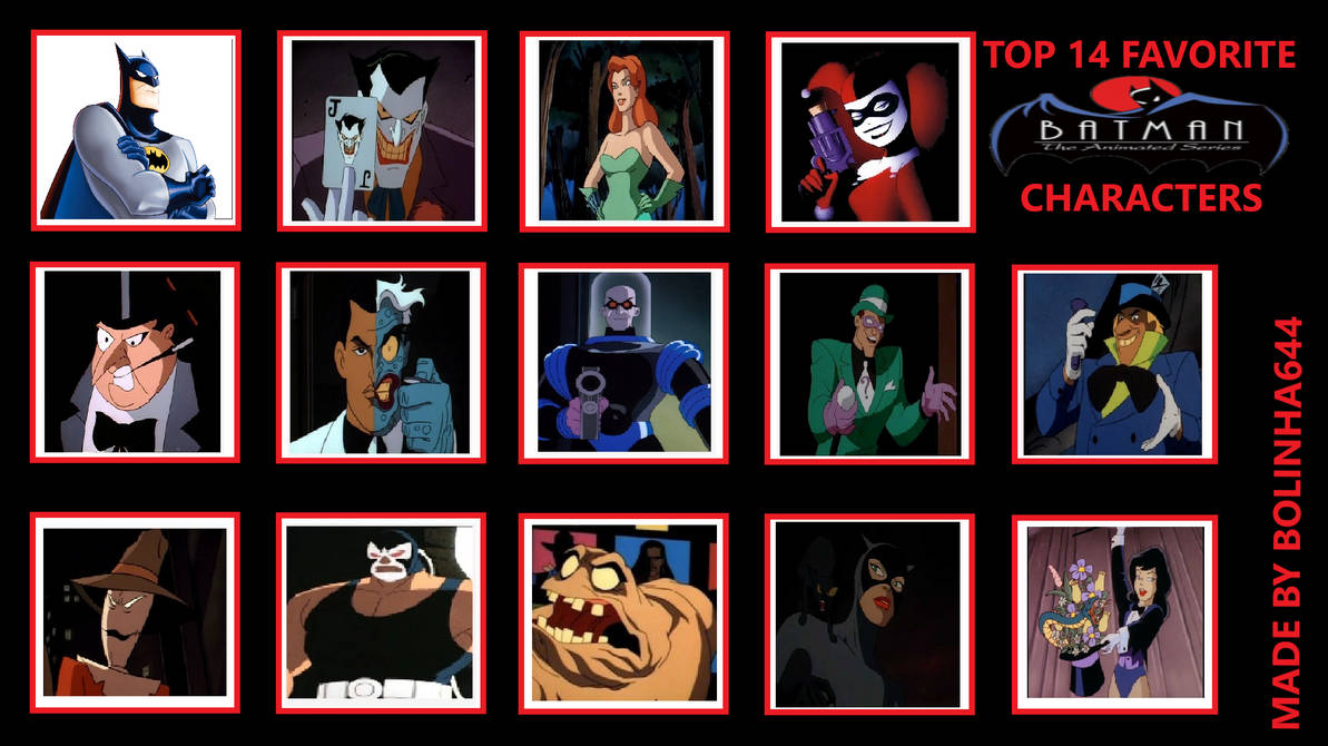 My Top 14 Favorite Batman TAS Characters