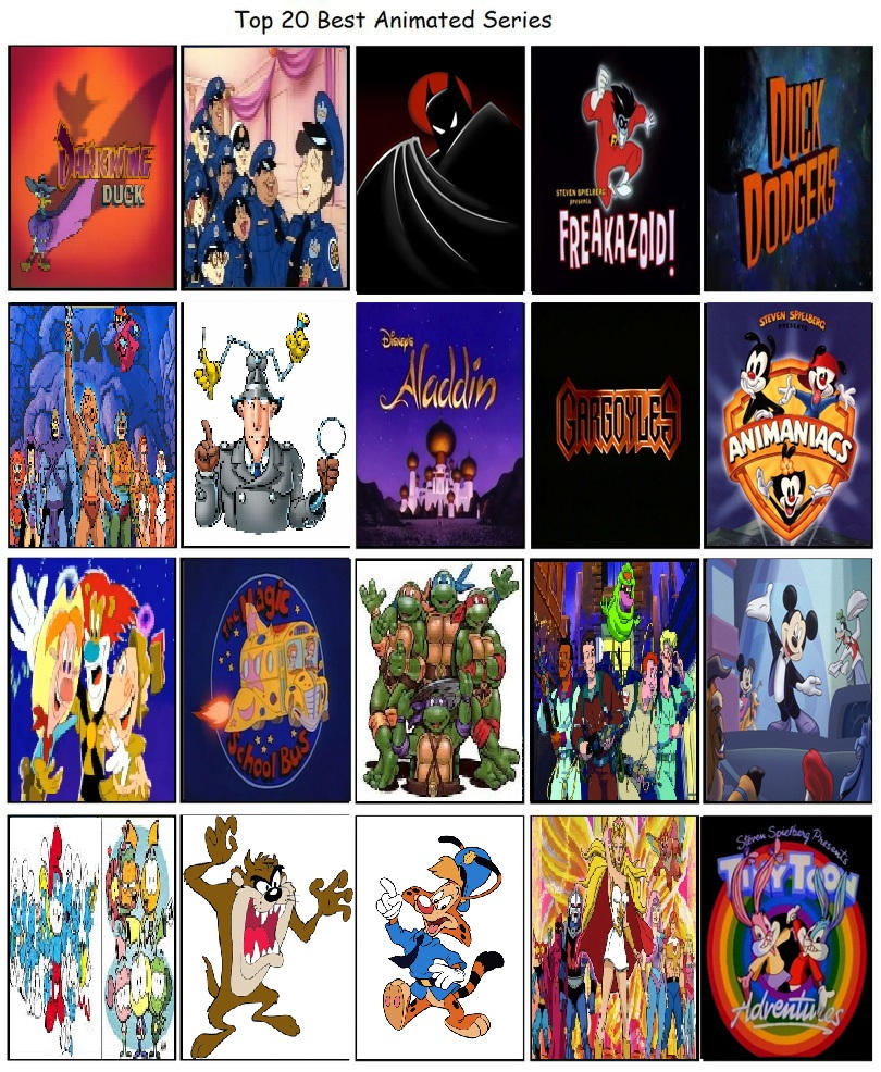 My Top 20 Best Animated Series (My Favorite Shows)