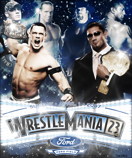 Wrestlemania 23 by Northsider86