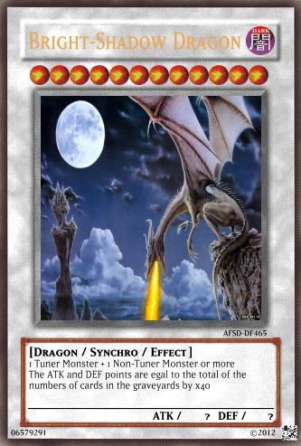 carte yu gi oh dragon Yu Gi Oh! Carte: Bright Shadow Dragon by Artmalex on DeviantArt