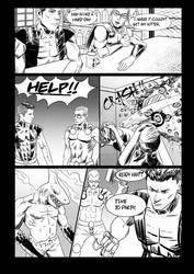 commission Comic Superhero1 Low