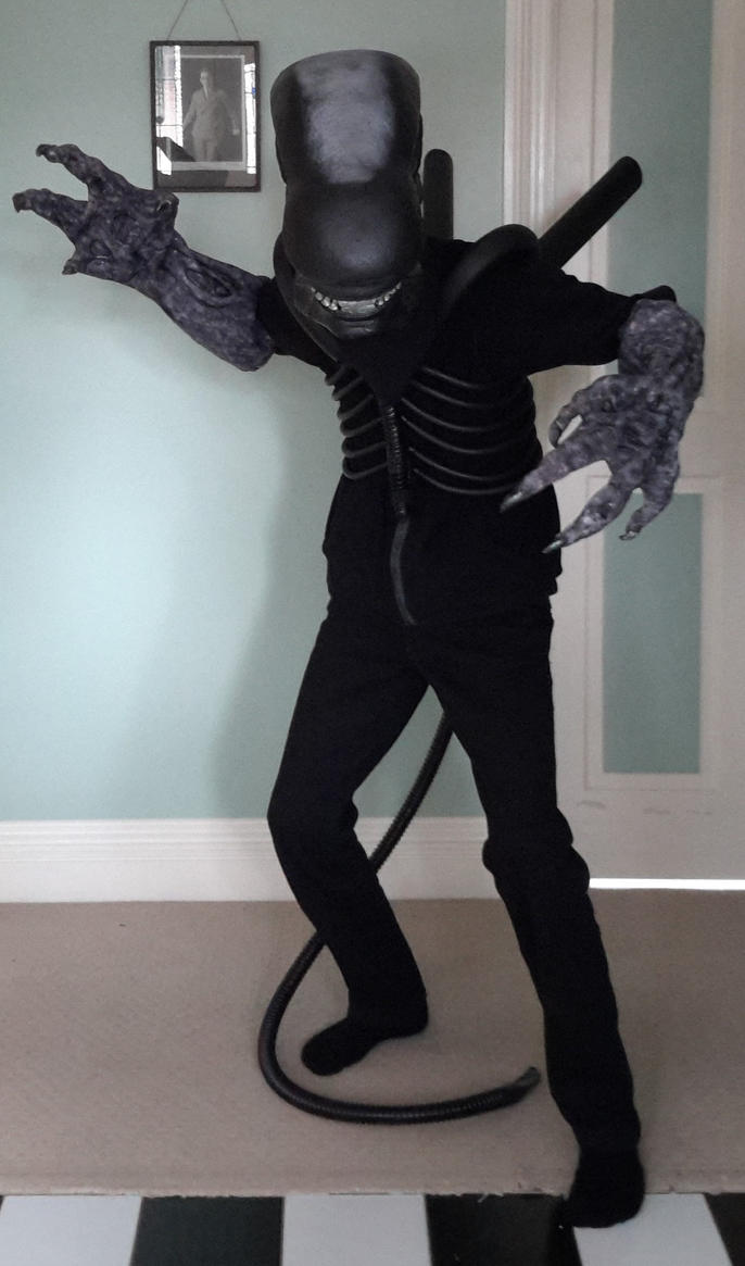 Xenomorph Halloween Costume by Fishyribbit ... & Xenomorph Halloween Costume by Fishyribbit on DeviantArt
