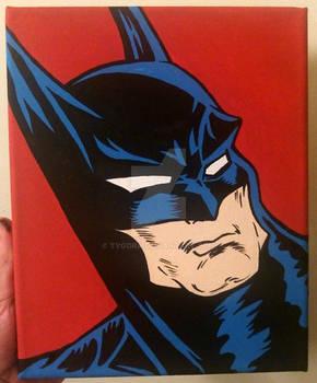 batman canvas art