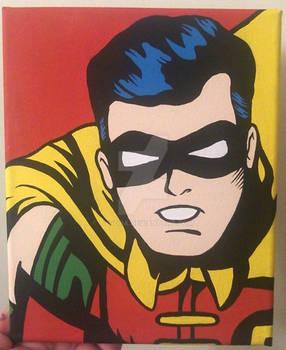 Robin canvas art