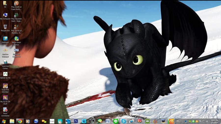 Смотреть мультфильм Драконы: Подарок ночной фурии онлайн в хорошем 48